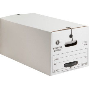 Business Source Medium Duty Letter Size Storage Box