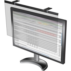 Business Source LCD Monitor Privacy Filter Black