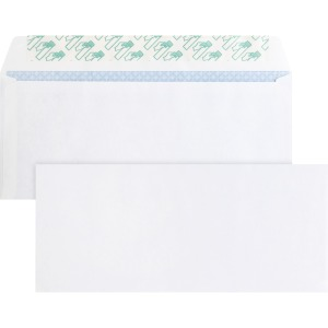 Business Source Regular Tint Peel/Seal Envelopes