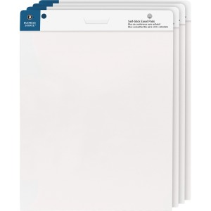 "Business Source 25""x30"" Self-stick Easel Pads"