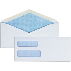 Business Source No. 8-5/8 Business Check Envelopes