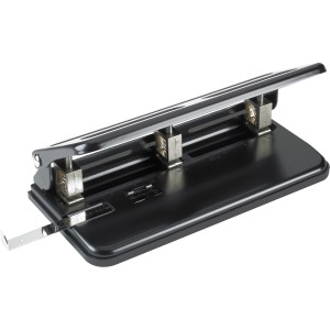 Business Source Heavy-duty 3-hole Punch