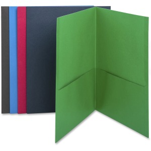 Business Source Two-Pocket Folders