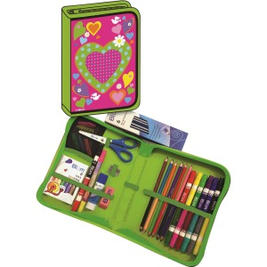Blum Hearts K-4 School Supply Kit