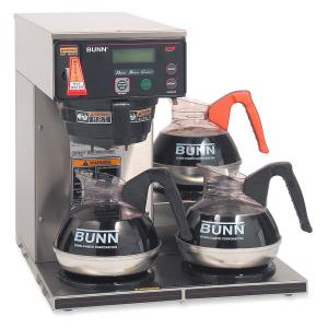 BUNN 12-cup Digital 3-Warmer Commercial Brewer