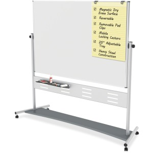 MasterVision Magnetic Dry Erase 2-sided Easel