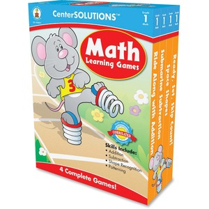CenterSOLUTIONS Grade 1 CenterSolutions Math Learning Games