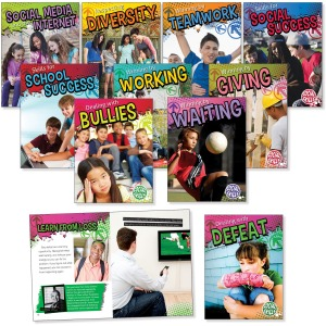Rourke Educational Grades 3-5 Social Skills Book Set Printed Book