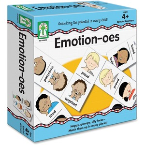Carson Dellosa Education Emotion-oes Board Game