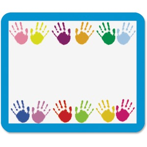 Carson-Dellosa Grades PreK-5 Handprints Name Tags
