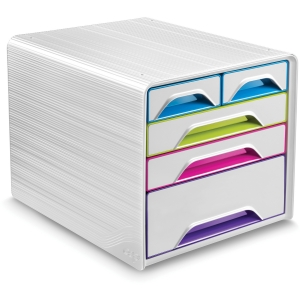 CEP Gloss Desktop Drawer Storage Unit