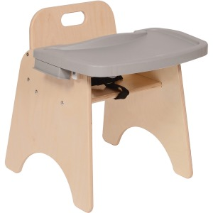 "Angeles 11"" High Feeding Chair"