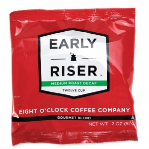 Coffee Pro Early Riser Medium Roast Decaf Coffee 12-cup Filter Pouch