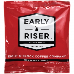 Coffee Pro Early Riser Medium Roast Regular Coffee 12-cup Filter Pouch