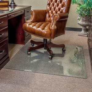 Clearly Innovative Executive Chair Mat 46 x 46 Clear