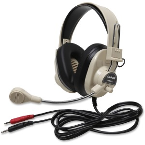 Deluxe Multimedia Stereo Wired Headset 3.5Mm Plug
