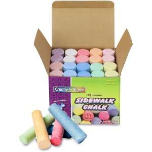 Creativity Street Tub of Sidewalk Chalk