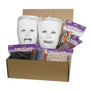 Creativity Street Plastic Masks Activities Kit