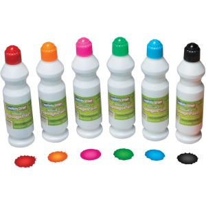 Creativity Street Sponge Paint Set