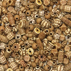 Creativity Street Mixed Bone Beads