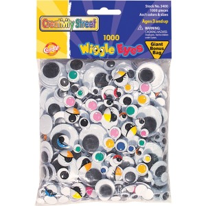 Creativity Street Assorted Classpack Wiggle Eyes
