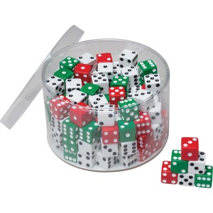 Creativity Street 144-piece Tub of Dice