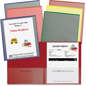 C-Line School-To-Home Folder