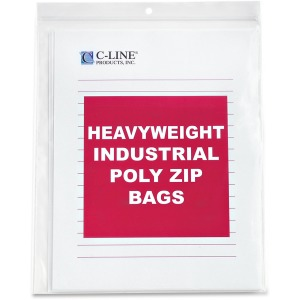C-Line Heavyweight Industrial Zip Bag