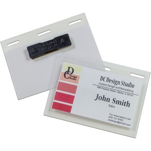 C-Line Self-Laminating Magnetic Style Name Badge Holder Kit