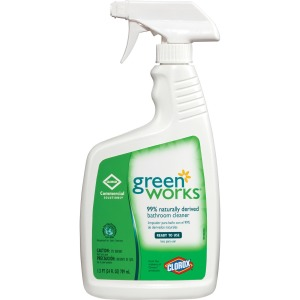 Clorox Commercial Solutions Green Works Bathroom Cleaner