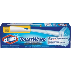 Clorox ToiletWand Disposable Toilet Clean System