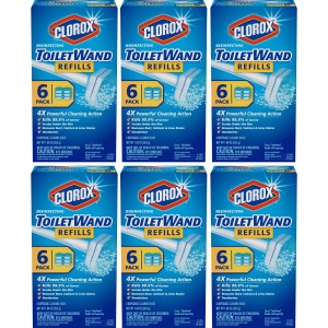 Clorox ToiletWand Disinfecting Refills, Disposable Wand Heads