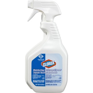 Clorox Commercial Solutions Disinfecting Bathroom Cleaner with Bleach