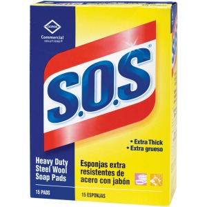 Clorox Commercial Solutions S.O.S. Steel Wool Soap Pads