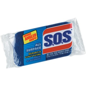 S.O.S All-Surface Scrubber Sponge