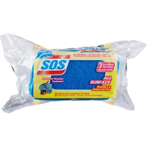 S.O.S All Surface Scrubber Sponge