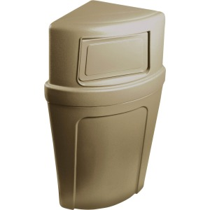 Continental 8325 Corner Round Receptacle
