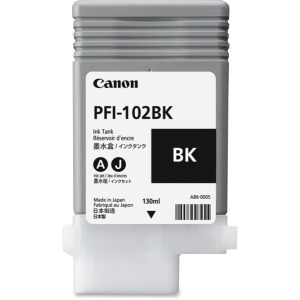 Canon PFI-102BK Original Ink Cartridge