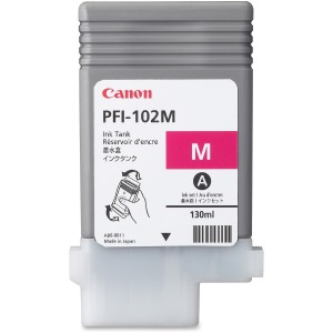 Canon PFI-102M Original Ink Cartridge