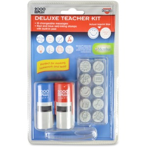 Consolidated Stamp Message Stamp Deluxe Teacher Kit