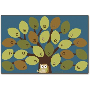 Carpets for Kids Owl-phabet Tree Woodland Rug