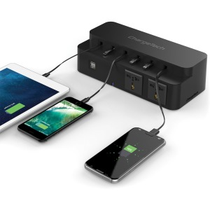 ChargeTech Power Strip Charging Station