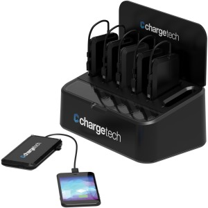 ChargeTech Portable Battery 6 Dock Station