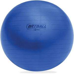 Champion Sports Blue Training/Exercise Ball