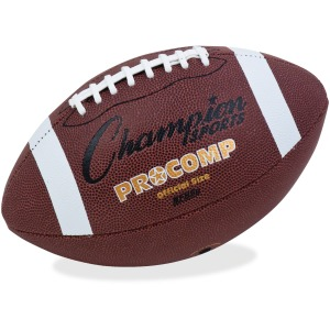Champion Sports Official Size Pro Composition Football