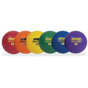 Champion Sports 10 Inch Poly Playground Ball Set
