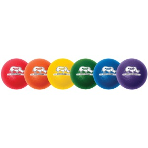 Champion Sports 6 Inch Rhino Skin Low Bounce Dodgeball Set