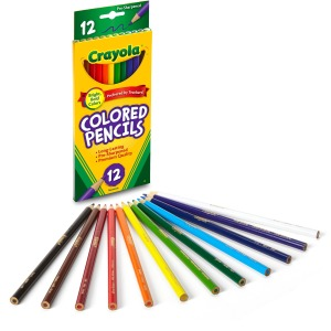 Crayola Presharpened Colored Pencils