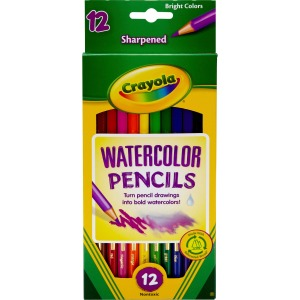 Crayola Watercolor Colored Pencil