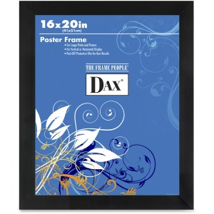 Dax Burns Group Black Wood Poster Frame